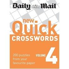 Daily Mail: New Quick Crosswords 4: 200 Puzzles from Your Favourite Paper: V. 4 (the Daily Mail Puzzle Books)