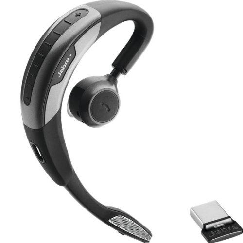 Jabra Motion Uc W/ Travel & Charge Kit Monoaural Nfc/Bluetooth Black/Silver 6640-906-150