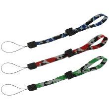 Wrist straps for handheld game consoles, cameras & mobiles ZedLabz – 3 pack camo