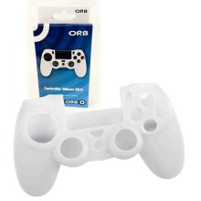 ORB PS4 Controller Silicone Skin Cover for Playstation 4 PS4 - White