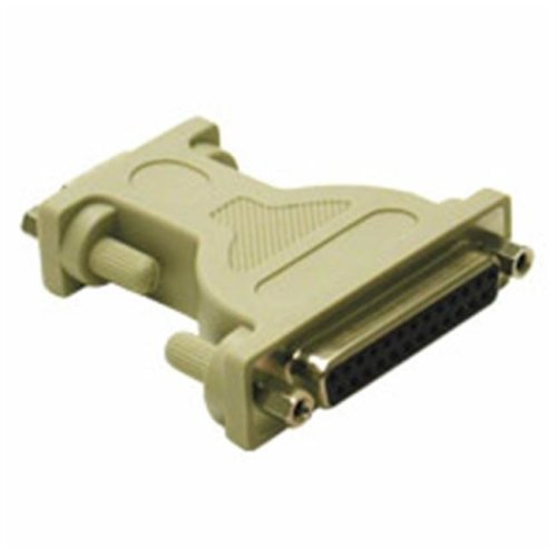 Cables To Go 02472 DB9F to DB25F NULL MODEM ADAPTER