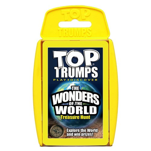 Wonders of the World Top Trumps Card Game New Sealed