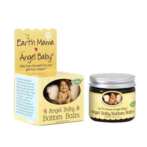Earth Mama Angel Baby Balm Bottom Angel Baby, 2 Fl Oz