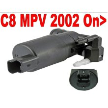 Direct Fit Twin Outlet Washer Pump Citroen C8 2.0 2.2 3.0 MPV 2002 >on