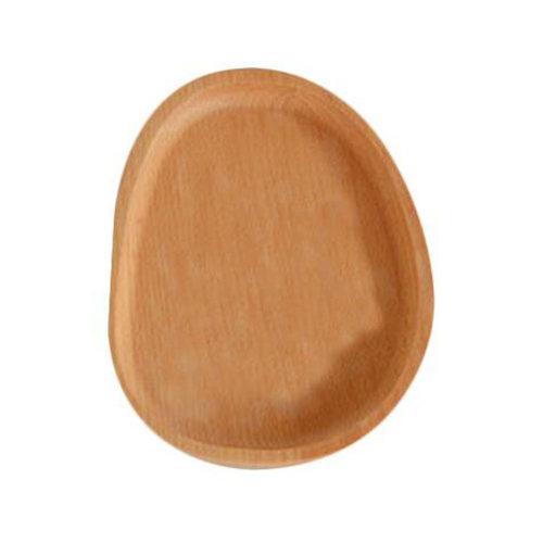 Wooden Dinnerware Fruit/ Meat/ Bread Plate Wooden Dish  16 X 12.5 CM