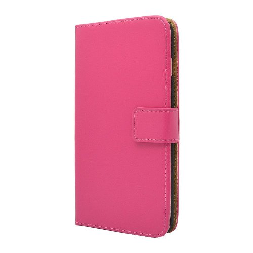 hot sale online 47ab1 0f00f Apple iPhone Genuine Leather Case, Premium Leather Wallet Case with  [Kickstand] [Card Slots] [Magnetic Closure] Flip Notebook Cover Case for...