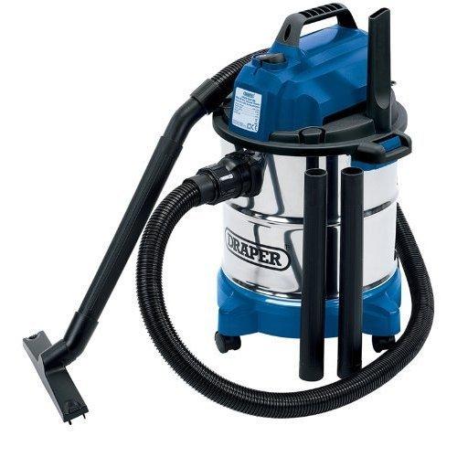 Vacuum Cleaner W/dry 20l 230v - Dry Wet Draper Steel Stainless Tank 1250w 13785 -  vacuum cleaner dry wet draper steel 20l stainless tank 1250w 230v