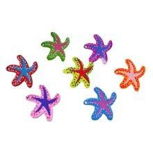 Colorful Starfish Push Pins/Lovely Cartoon Pushpins Drawing Pins,10 PCS
