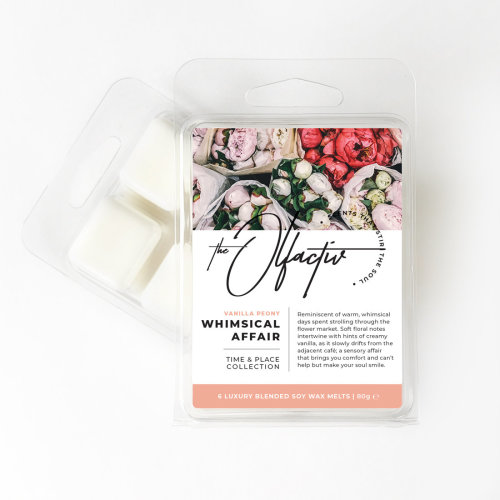 Wax Melts, 80g - Whimsical Affair (Vanilla Peony)