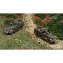 M3 76MM GUN MOTOR CARRIAGE - MILITARY VEHICLES 1:72 FAST ASSEMBLY - Italeri 7510