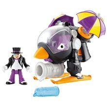 Fisher Price Imaginext DC Super Friends Vehicle The Penguin Copter
