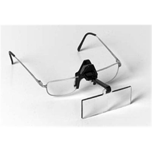 "Edroy 912 Spring Clip Opticaid - Clip-On Flip-Up Magnifier - 1.5X  20""L Focal"