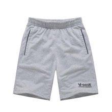 Quick-drying Pants Men Casual Boardshorts Holiday Loose Beach Shorts Gray