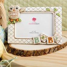 Baby Owl Unisex Neutral Frame (4 x 6)