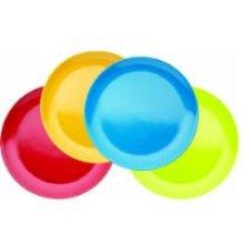 20.5cm Miniamo Brights Pack Of 4 Melamine Plates