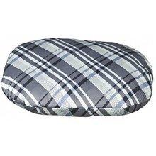 Trixie Jerry Dog Cushion, Large: 80x55cm, Grey/white (cotton) - Cushion Large -  trixie jerry dog cushion large 80x55cm greywhite cotton pillow
