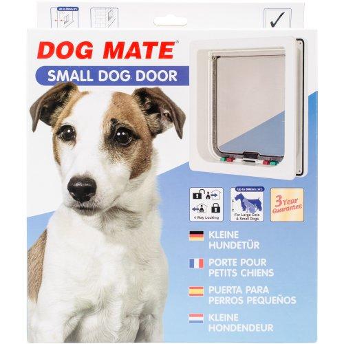Dog Mate Small Dog Door-White