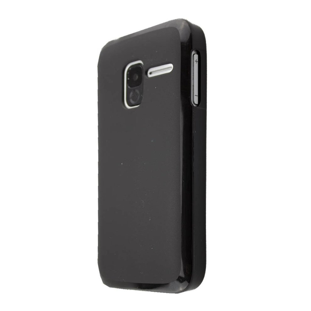 finest selection 95176 90928 Smartphone Case Alcatel 2008G by caseroxx - Smartphone Case (TPU-Bumper,  black)
