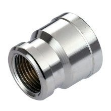 """Pipe Connection Reduction Female Fittings Muff Chrome 1/2""""x3/8"""" 3/4""""x1/2"""""""