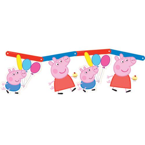 Gemma Room Banner - Peppa Pig - Party Birthday Childrens Kit 8162432 Featuring -  party pig peppa birthday banner childrens kit 8162432 featuring new