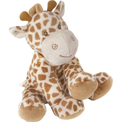 Suki Baby Medium Bing Bing Soft Boa Plush Toy with Embroidered Accents (Giraffe)