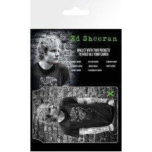Ed Sheeran Skull Travel Pass Card Holder