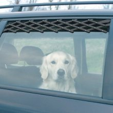 Trixie Valveation Lattice For Cars, 24 x 70 Cm, Black - Ventilation Dog Car -  lattice trixie ventilation dog car cars air fresh 13101 dogs