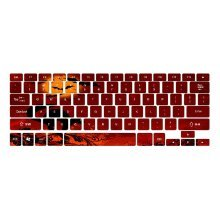 Demon World Keyboard Stickers / Decals For MacBook (Air 13 Inch Retina)