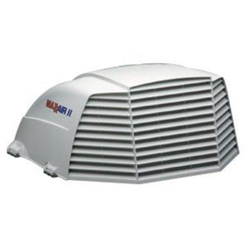 MAXXAIR VENT 933072 Roof Vent Cover White Polyethylene