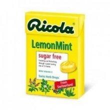 RICOLA - Swiss Herbal Sweets - Lemon -Sugar Free with Aspartame 45G