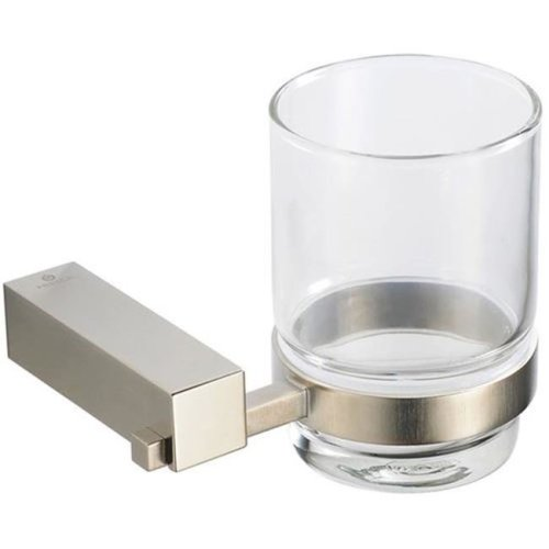 Online Gym Shop FAC0410BN Fresca Ottimo Tumbler Holder - Brushed Nickel