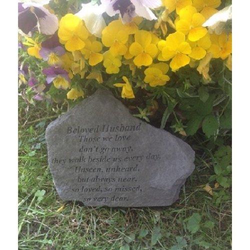 Kay Berry Beloved Husband Memorial Graveside Garden Plaque Stone