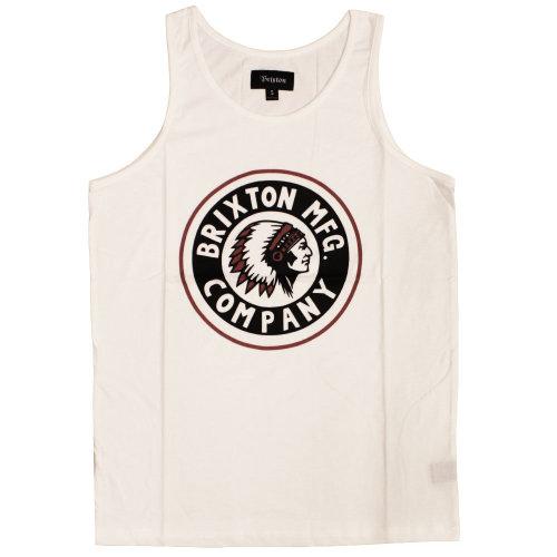 Brixton Grizzly Tank Top White