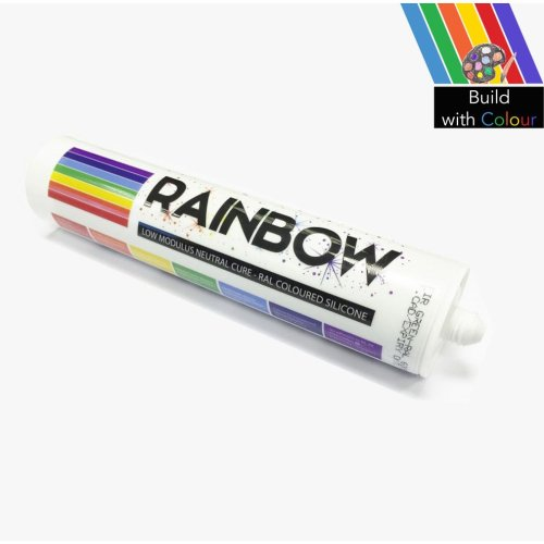 Rainbow Silicone Sealant Various Colours Home DIY