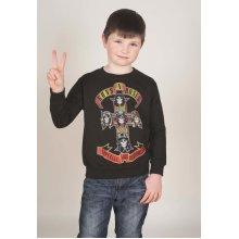 Rockoff Trade Boy's Appetite For Destruction Youth Sweatshirt, Black, Large -