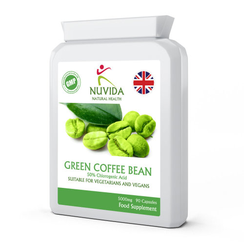 Green Coffee Bean Extract / 90 x 5000mg High Strength Capsules