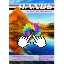 Hands 8x6 240gsm Gloss Photo Paper