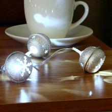 2M 20 LED Metal Bell String Fairy Lights