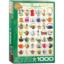 Eg60000599 - Eurographics Puzzle 1000 Pc - Teapots