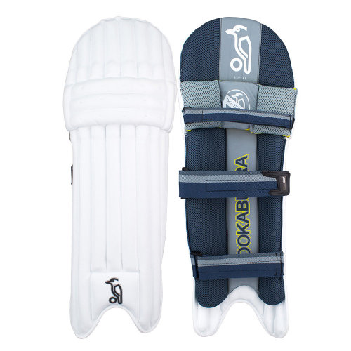 Kookaburra 2019 Nickel 3.0 Cricket Batting Pads Leg Guards White/Grey