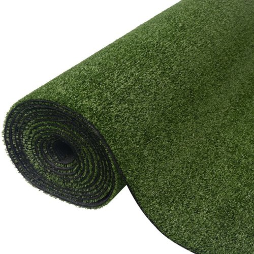 vidaXL Artificial Grass 0.5x5 m 7-9 mm Green Garden Material Fake Turf Lawn