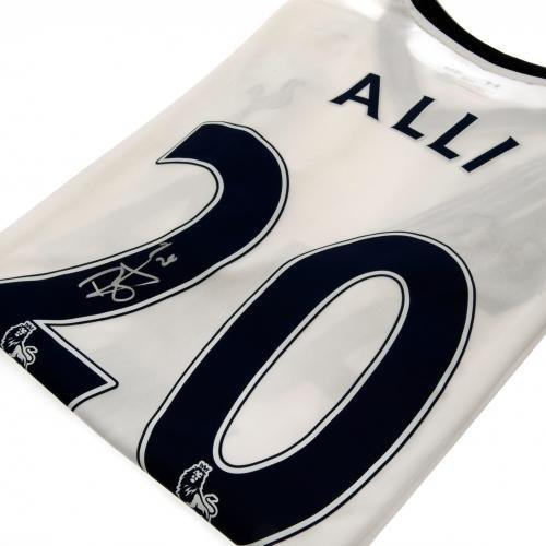 Tottenham Hotspur F.C. Dele Alli 2015/16 Home Signed Replica Shirt