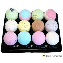 Bath Bomb Buzzy Gift Set : 12 X 65g Mix