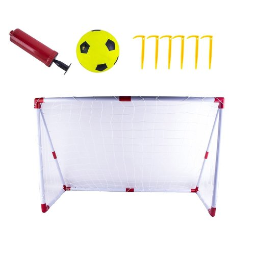 deAO Kids Football / Soccer Goal Set with Target Sheet