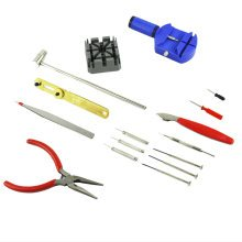 16 Piece Watch Repair Fix Kit Set & Wrist Strap Adjust Pin Tool Back Remover