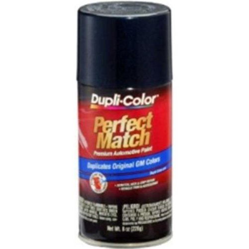Krylon BGM0500 8 oz Perfect Match Automotive Paint, GM Dark Ming Blue Metallic