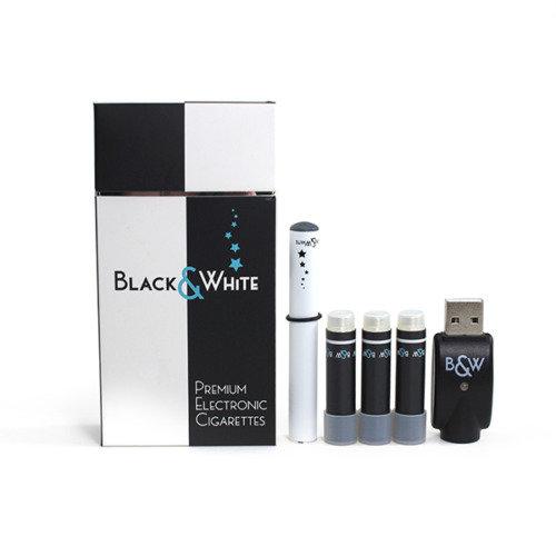 B&W PREMIUM E-CIGARETTE Starter kit-Tobacco flavour- USB Re chargeable