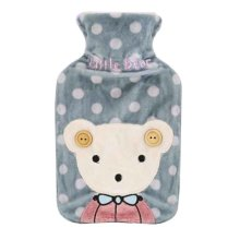 Cute and Comfortable Cartoon Warm Water Bag, Portable, 800ML [C]