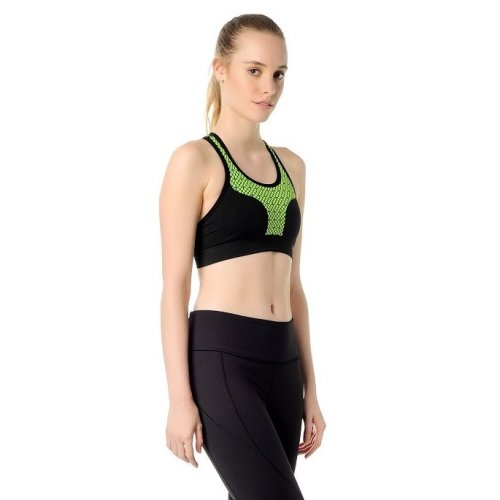 Jerf- Womens-Prado-Yellow- Sport Bra