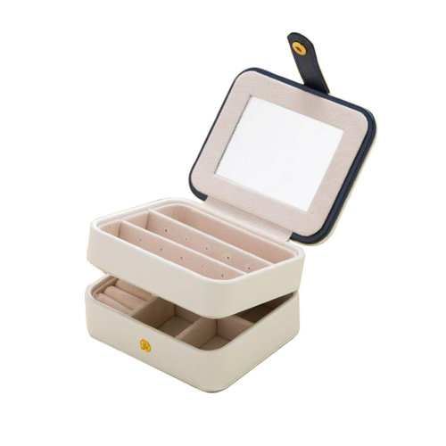 Small Travel Jewelry Box For Ring / Watch / Necklace / Earring -A1